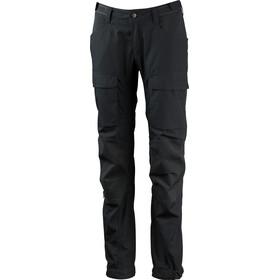 Lundhags Authentic II - Pantalones de Trekking Mujer - Short/Wide gris
